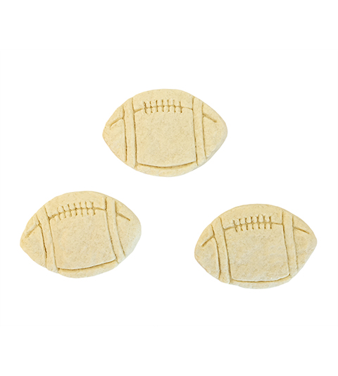 "Sugar Cookie 3"" Football MAIN"