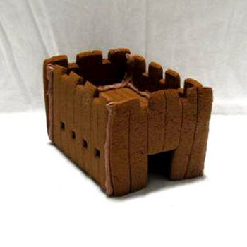 Wild Wild West! Gingerbread Fort Only - Assembled