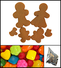Gingerbread Cookie Family Kit THUMBNAIL