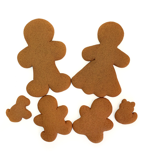 Gingerbread Cookie Family
