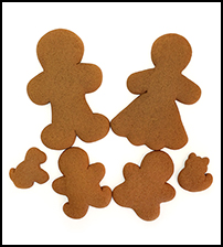 Gingerbread Cookie Family THUMBNAIL