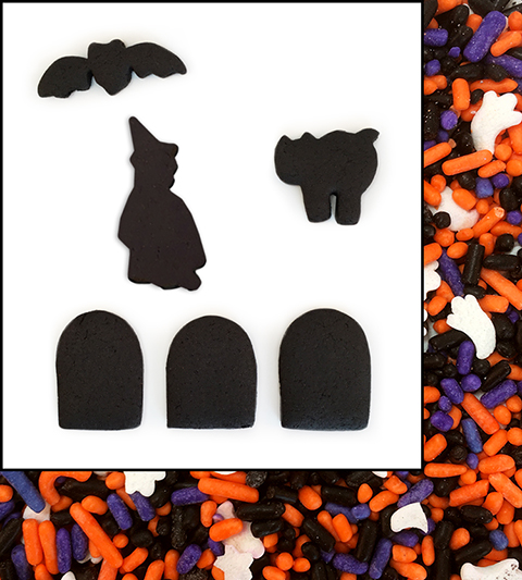 Halloween Black Chocolate Gingerbread Fun Pak MAIN