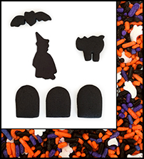 Halloween Black Chocolate Gingerbread Fun Pak