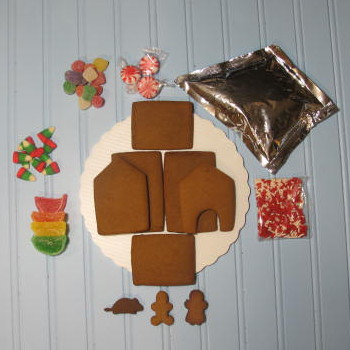 Mouse Gingerbread House Kit - Unassembled