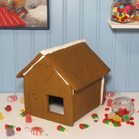 My Favorite Shop Gingerbread House Only - Assembled