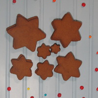 Holiday Gingerbread Tree Parts Only- Unassembled