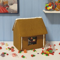 Traditional Gingerbread House Only  - Assembled