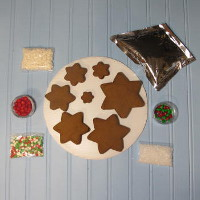 Holiday Gingerbread Tree Kit - Unassembled