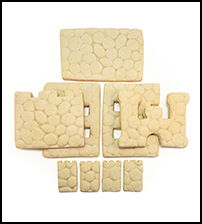 Sugar Cookie Castle Parts Only - Unassembled