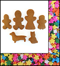 Family Gingerbread Fun Pak