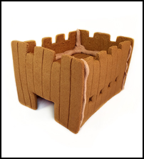 Gingerbread Fort Only - Assembled THUMBNAIL