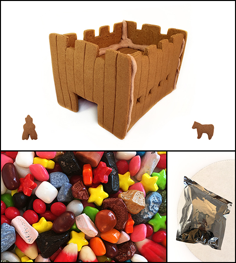 Gingerbread Fort Kit - Assembled_MAIN
