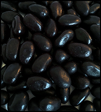 Jelly Beans - Black (Licorice)