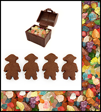 Pirate Chocolate Gingerbread Fun Pak
