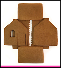 Unassembled Shop Gingerbread House Parts THUMBNAIL