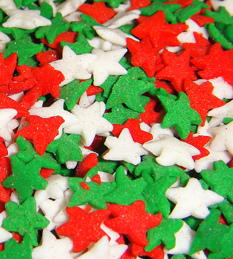Sprinkles (Christmas Stars) MAIN