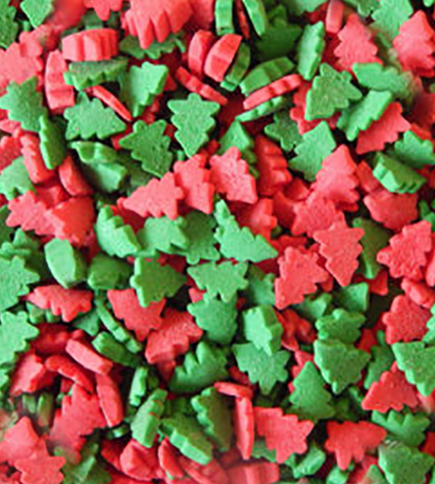 Sprinkles (Trees Red & Green)