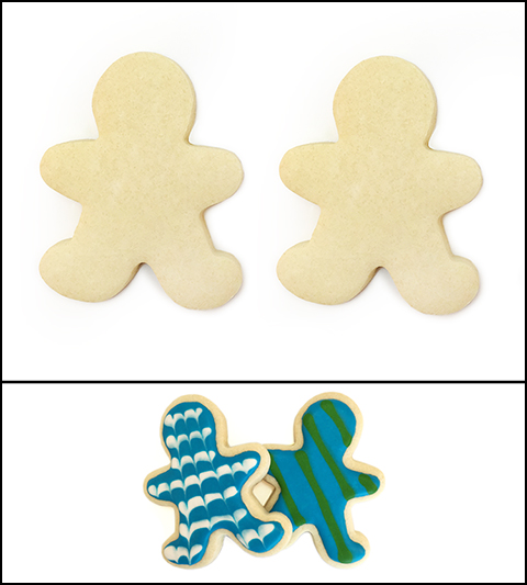 "Sugar Cookie 3½"" Boy and Boy MAIN"
