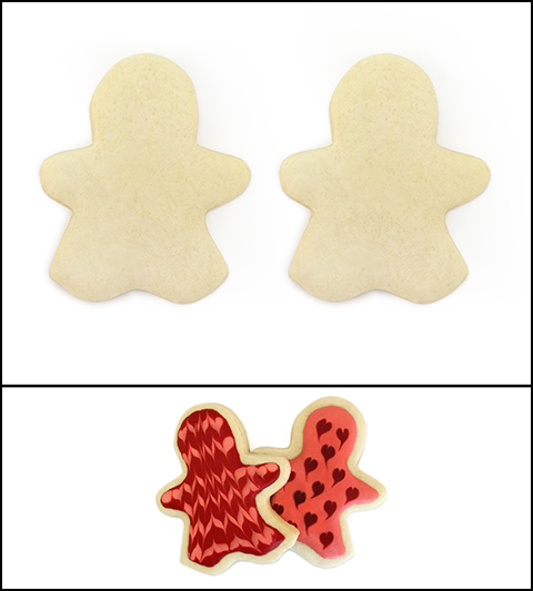 "Sugar Cookie 3½"" Girl and Girl MAIN"