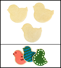 "Sugar Cookie 3½"" Bird"
