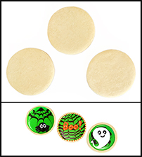 "Sugar Cookie 2"" Circle THUMBNAIL"