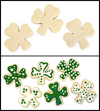 "Sugar Cookie 3½"" Shamrock_THUMBNAIL"