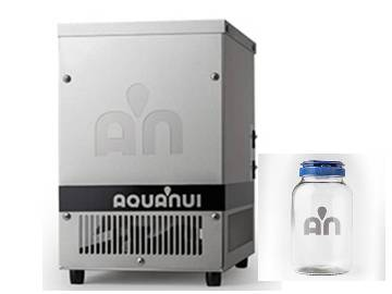 AquaNui CT Counter Top Stainless Water Distiller USA Product - 0.8 Gals in 6 Hours