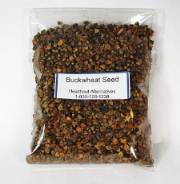 Organic Buck Wheat Seed 8 Ounce Packet  This seed is used in our Sprout Growing operation