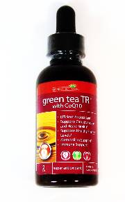 Green Tea TR (Turmeric) with CoQ10 Liquid