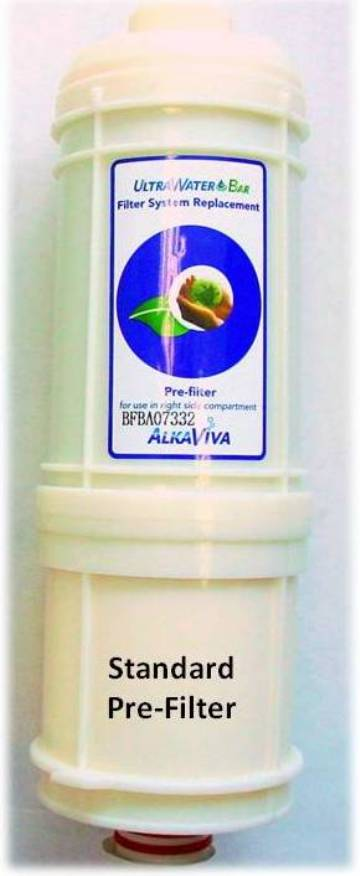 AlkaViva Internal PreFilter for H2 Water Ionizers Fits Melody II, Athena H2 and Vesta H2