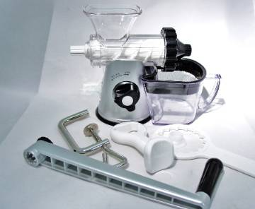 Healthy Juicer Silver & Black Lexan