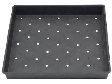 "Large Planting Tray  17"" x 17"" x 2½"" growing tray for wheatgrass and sprouts."