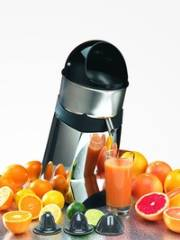 Santos Model SAN52 Commercial Citrus Juicer  Models –  SAN52C – Chrome Colored Finish SAN52G – Gray Colored Finish