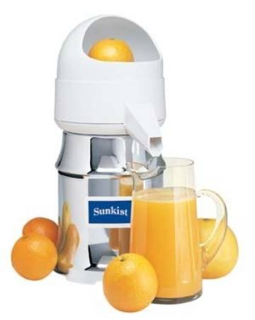 sunkist commercial citrus juicer orange