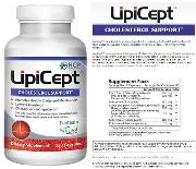 LipiCept Cholesterol Support Dietary Vegetarian Formula Supplement - 120 Capsules