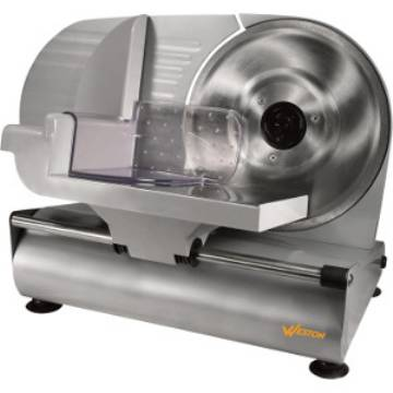 "Weston 9"" Stainless Steel Food Slicer"