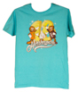 Hersheypark 2018 Characters Adult T-shirt-Scuba Blue