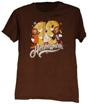 Hersheypark 2018 Characters Adult T-shirt Brown