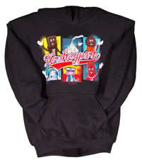 Hersheypark Character Group Youth Hooded Sweatshirt