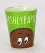 Hersheypark Reese's Character Shot Glass 1.5oz Mini-Thumbnail