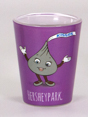Hersheypark Hershey's Kiss Character Shot Glass 1.5oz Mini-Thumbnail