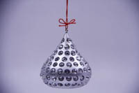 Hershey's Kisses Bling Christmas Ornament