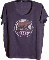 Hershey Bears Curvy Women's Primary Logo T-shirt