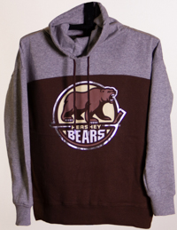 Hershey Bears Women's Funnel Neck Primary Logo Sweatshirt