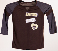 Hershey Bears Girl's 3/4 Sleeve T-shirt