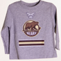 Hershey Bears Toddler Laces Long Sleeve T-shirt
