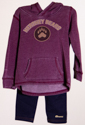 Hershey Bears Toddler Girl's Sweatshirt and Jeggings Set