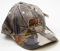 Hershey Bears Men's Distressed Camo Adjustable Hat_LARGE