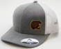Hershey Bears Men's Heather Grey Bear Head Logo Adjustable Hat