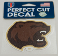 Hershey Bears Bear Head Decal_LARGE